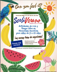 SerliVerano17 - Actividades de Ocio y Tiempo Libre en Verano @ Espacios Serlicoop   Elda   Comunidad Valenciana   España
