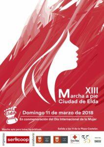 XIII Marcha a Pie - Elda Anda 2018 @ Plazas Castelar   Elda   Comunidad Valenciana   España
