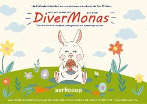 Divermonas 19 - Actividades infantiles en Pascua @ Espacios Serlicoop | Elda | Comunidad Valenciana | España